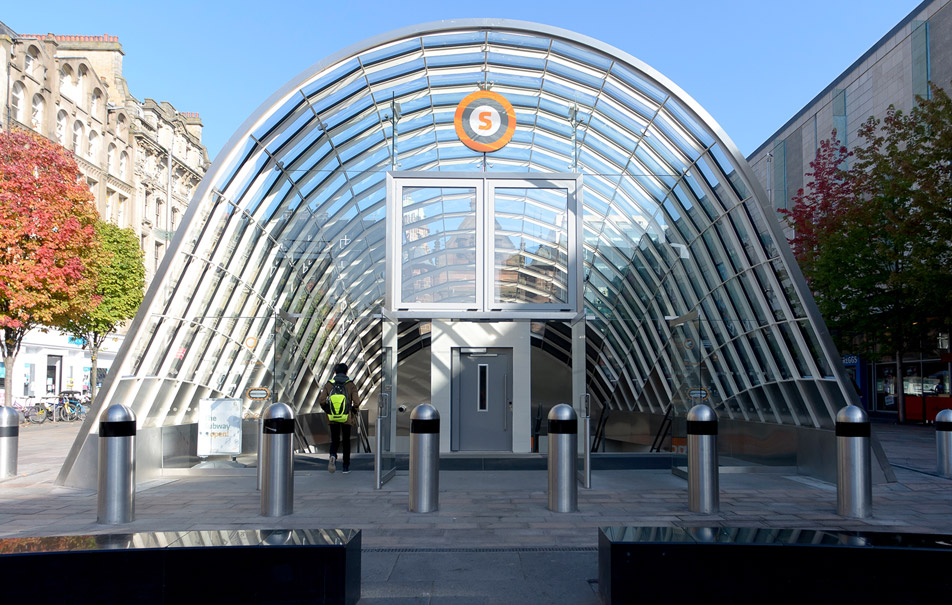 St Enoch Subway