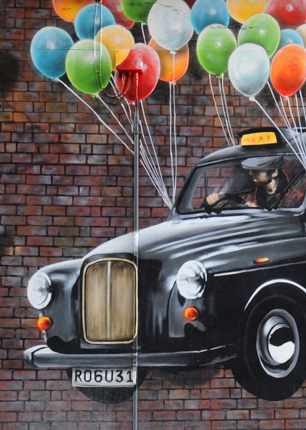 Mural Trail : The World's Most Economical Taxi